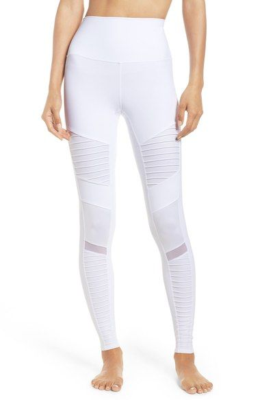 white-moto-leggings