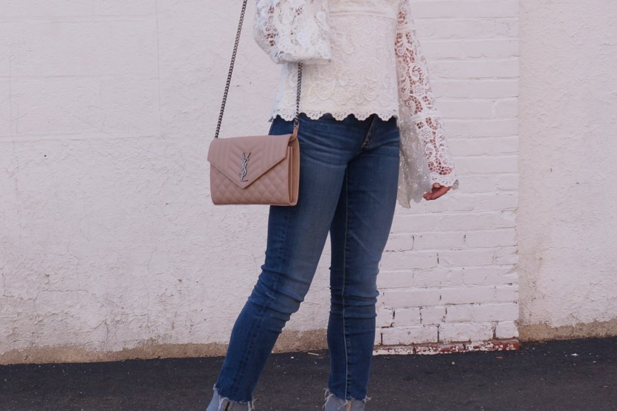 The Prettiest White Tops for Fall