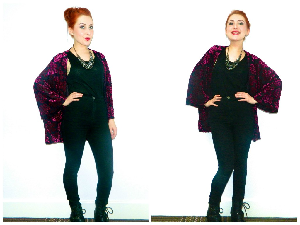 Black and Pink: My throw-on-and-go outfit