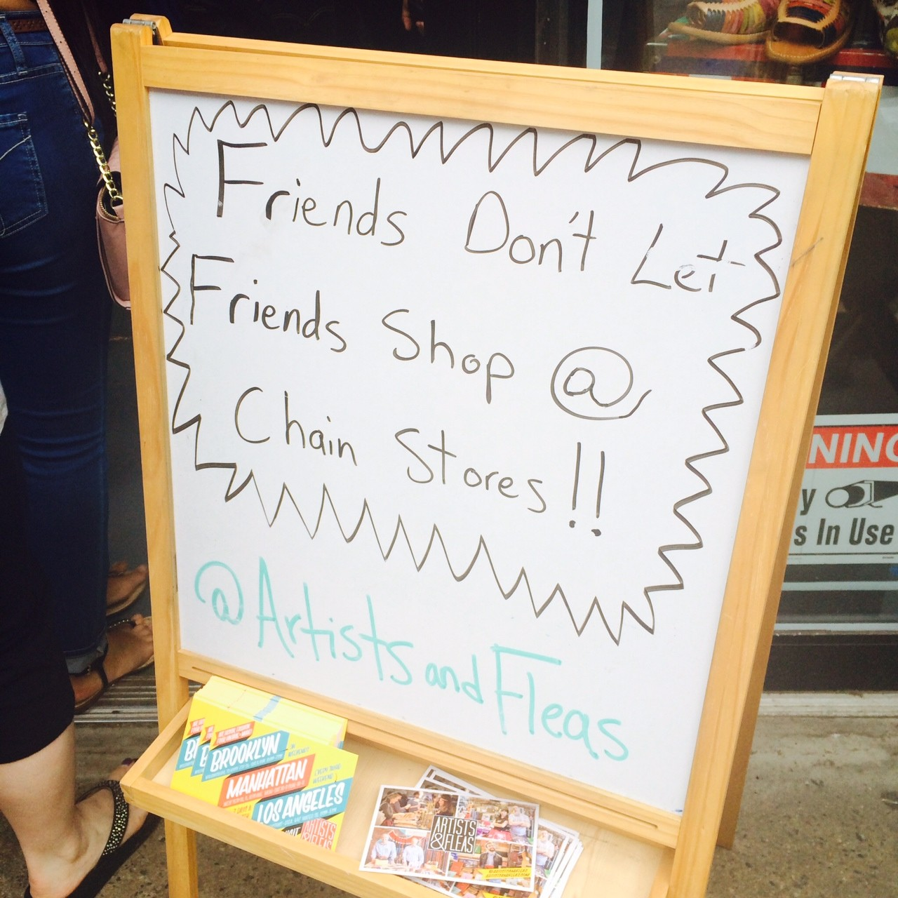 Friends Don't Let Friends Shop in Chainstores: Welcome to Williamsburg
