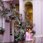 Blogger Twenty-Something City at Peggy Porschen, Kensington, London