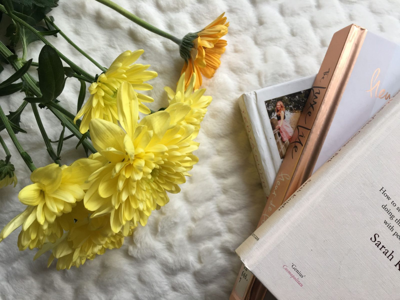 Flat lay blogger Twenty-Something City being kinder to yourself