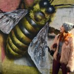 Blogger Twenty-Something City in Shudehill, Manchester wearing faux fur Shein jacket talking about style confidence