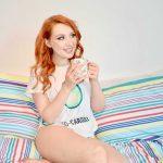 Blogger Alice from Twenty-Something City wears Shein avocado pyjamas for Veganuary