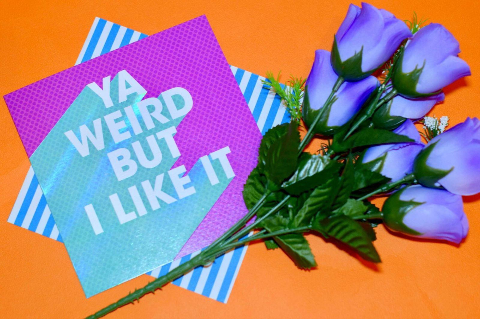 Ya weird but I like it Valentine's Day card