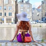 Twenty-Something City colourful summer fashion at The Shore Leith