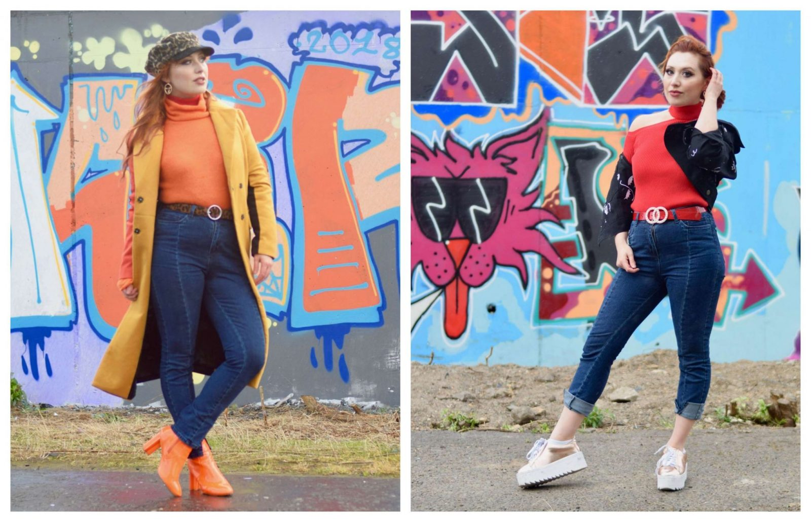 Blogger Twenty-Something City autumn Nakd fashion jeans and jumper