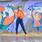 Twenty-Something City orange roll neck jumper Nakd fashion