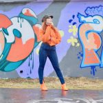 Twenty-Something City orange roll neck jumper Nakd fashion