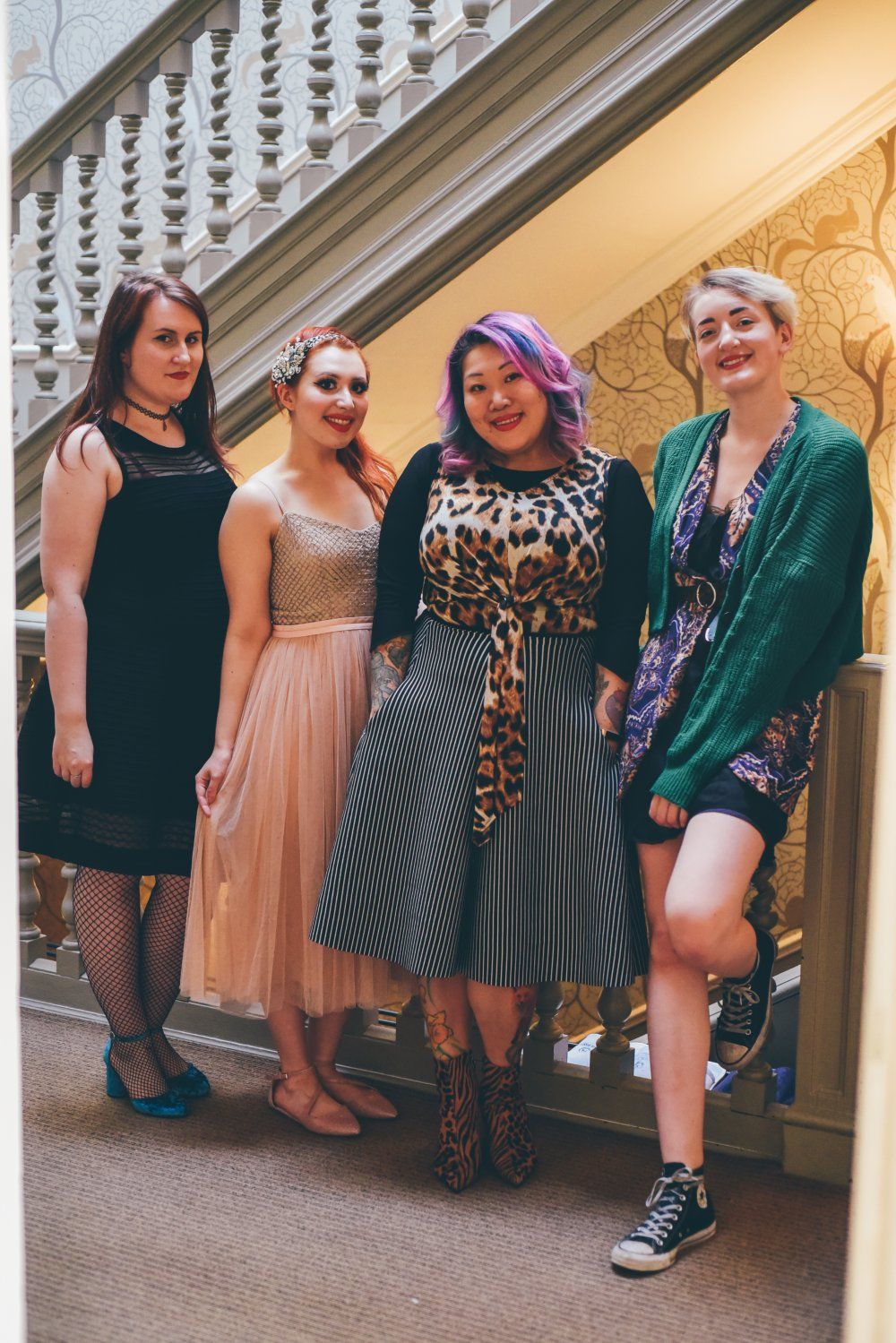 Edinburgh bloggers Mo-adore, Twenty-Something City, Lucie Dumpling and Ruth MacGilp share ethical fashion tips