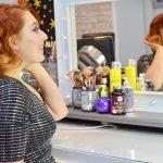 blogger Twenty-Something City fine coloured hair tips
