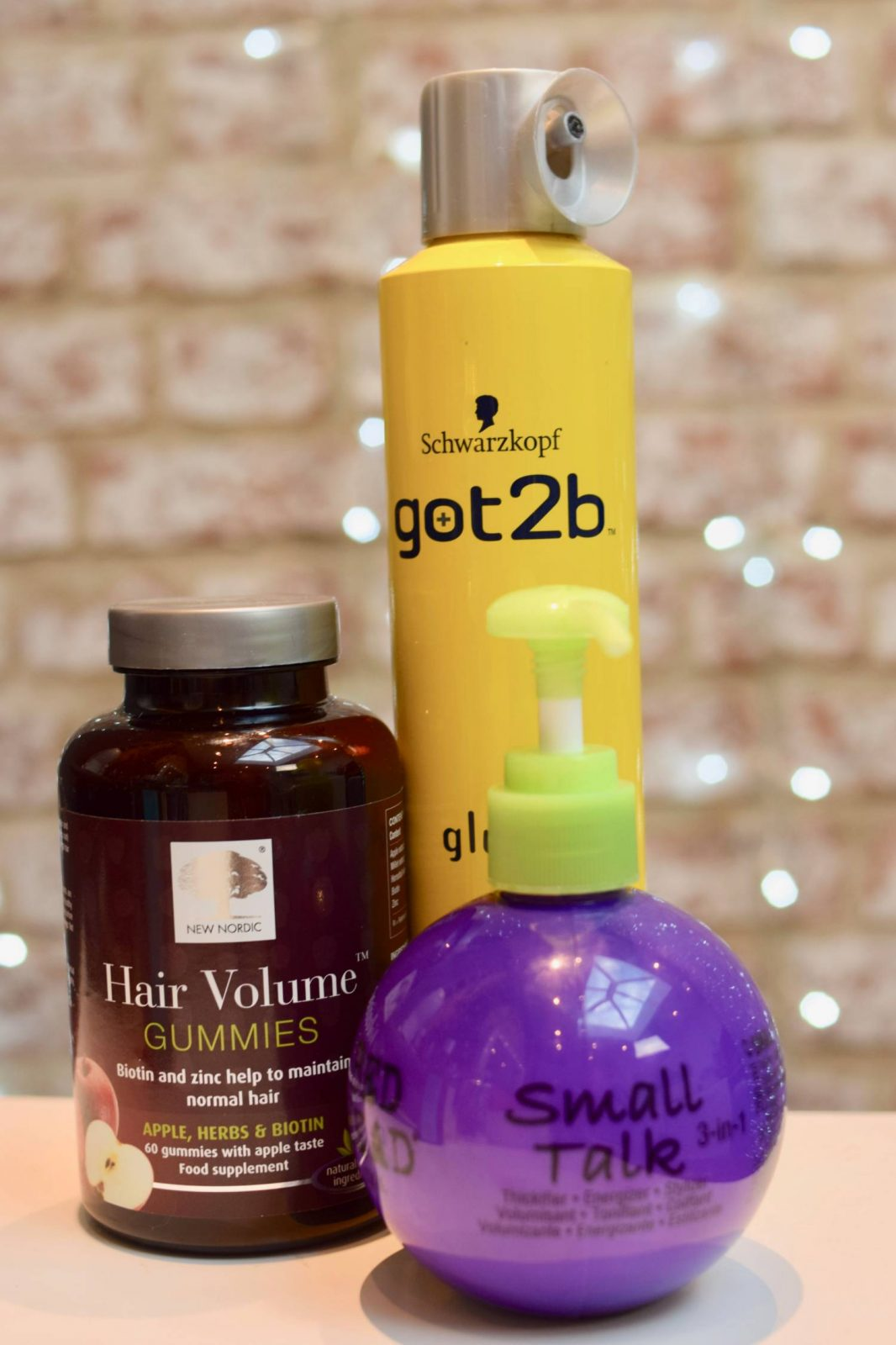 blogger Twenty-Something City products for fine coloured hair