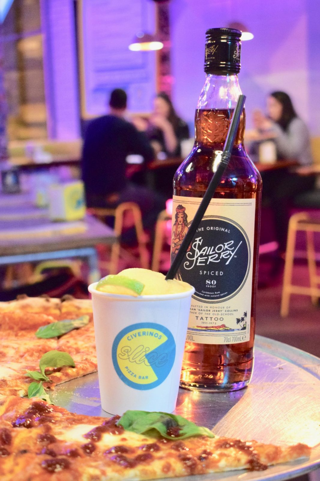 Sailor Jerry Follow the flash Civerinos Slice Edinburgh