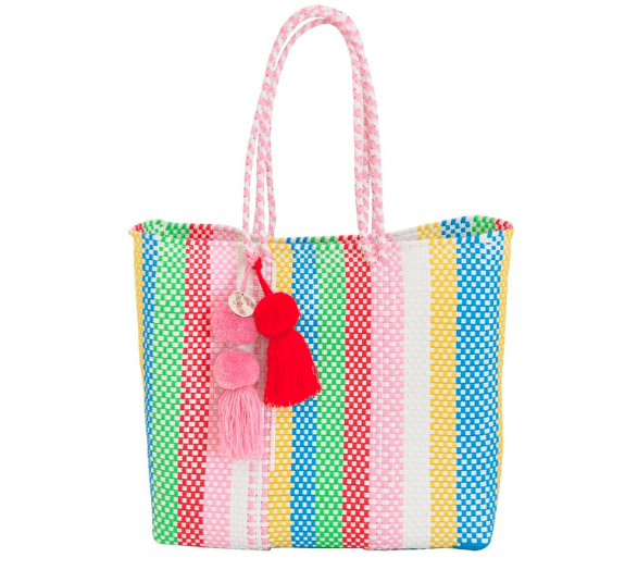 Soi55Lifestyle recycled rainbow bag for Pride
