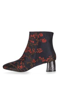 BUMBLE Embroidered Featured Boots- Now £20.00