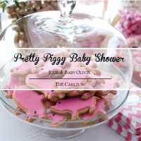 Pretty Piggy Baby Shower