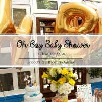 """OH BOY"" Baby Shower"