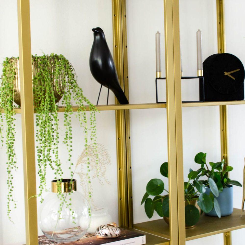 Onwijs Ikea hack: Vittsjö kast van basic wit naar chique goud | Styled by HE-88