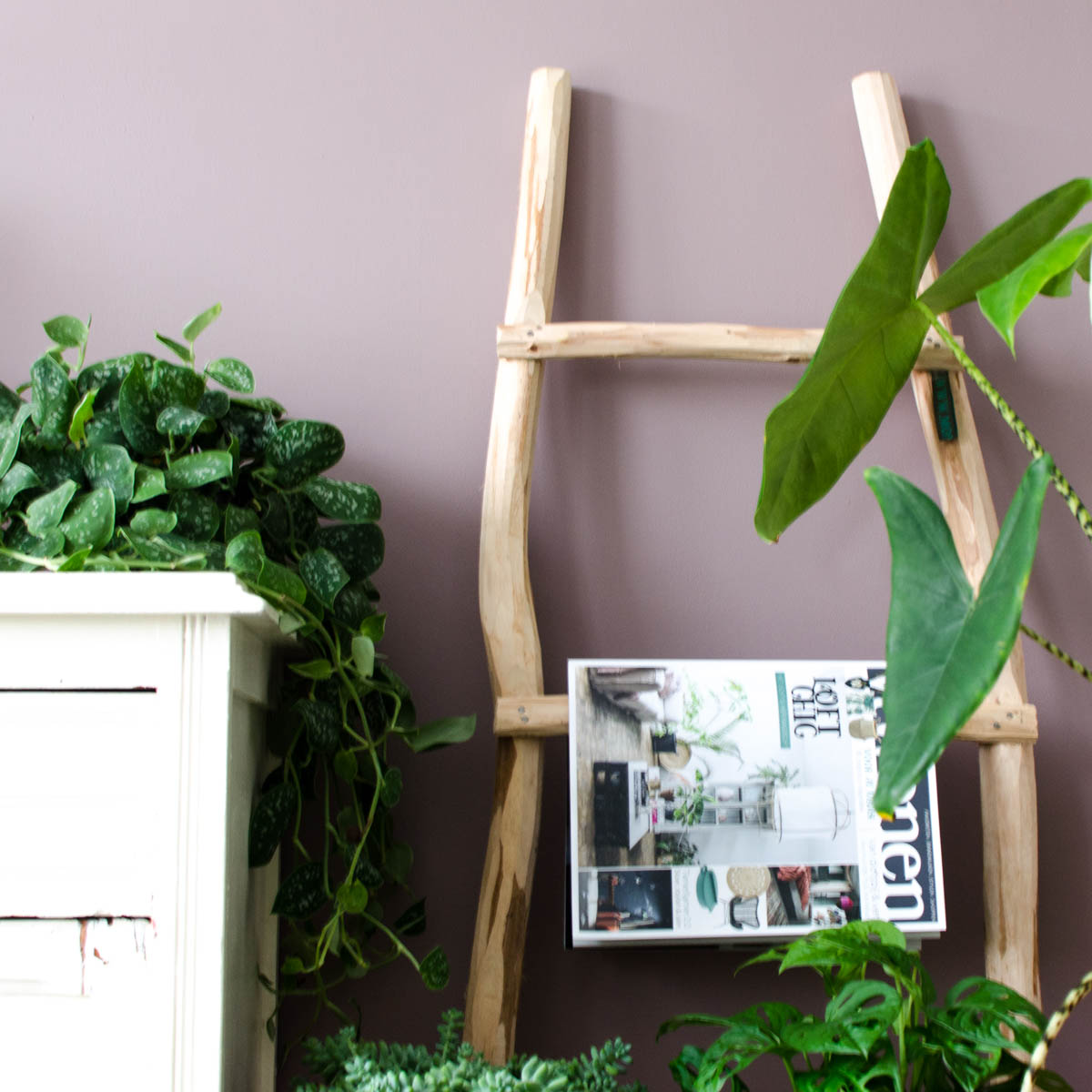 Ladder woonkamer | Styled by Sabine