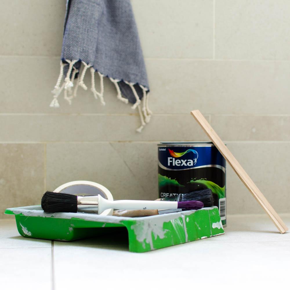 Badkamertegels verven, zo doe je dat | Styled by Sabine
