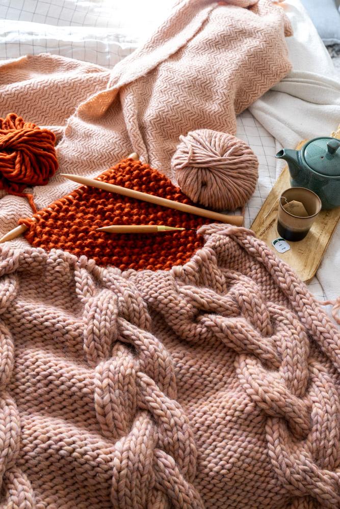 eerste trui breien met We Are Knitters