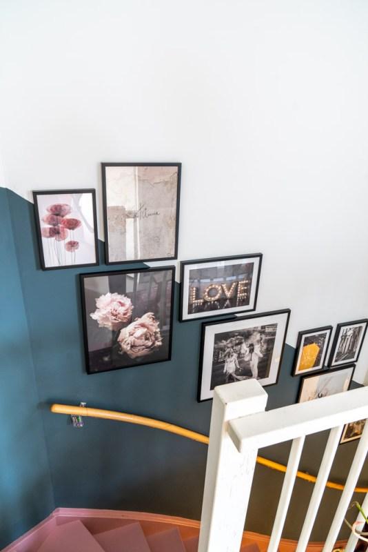 gallery wall trapgat