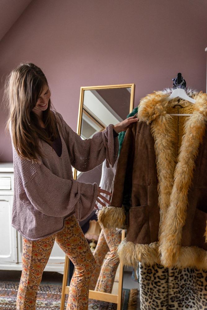wassen vintage kleding