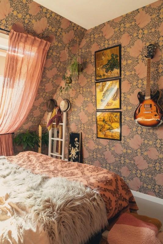 creatieve wanddecoratie