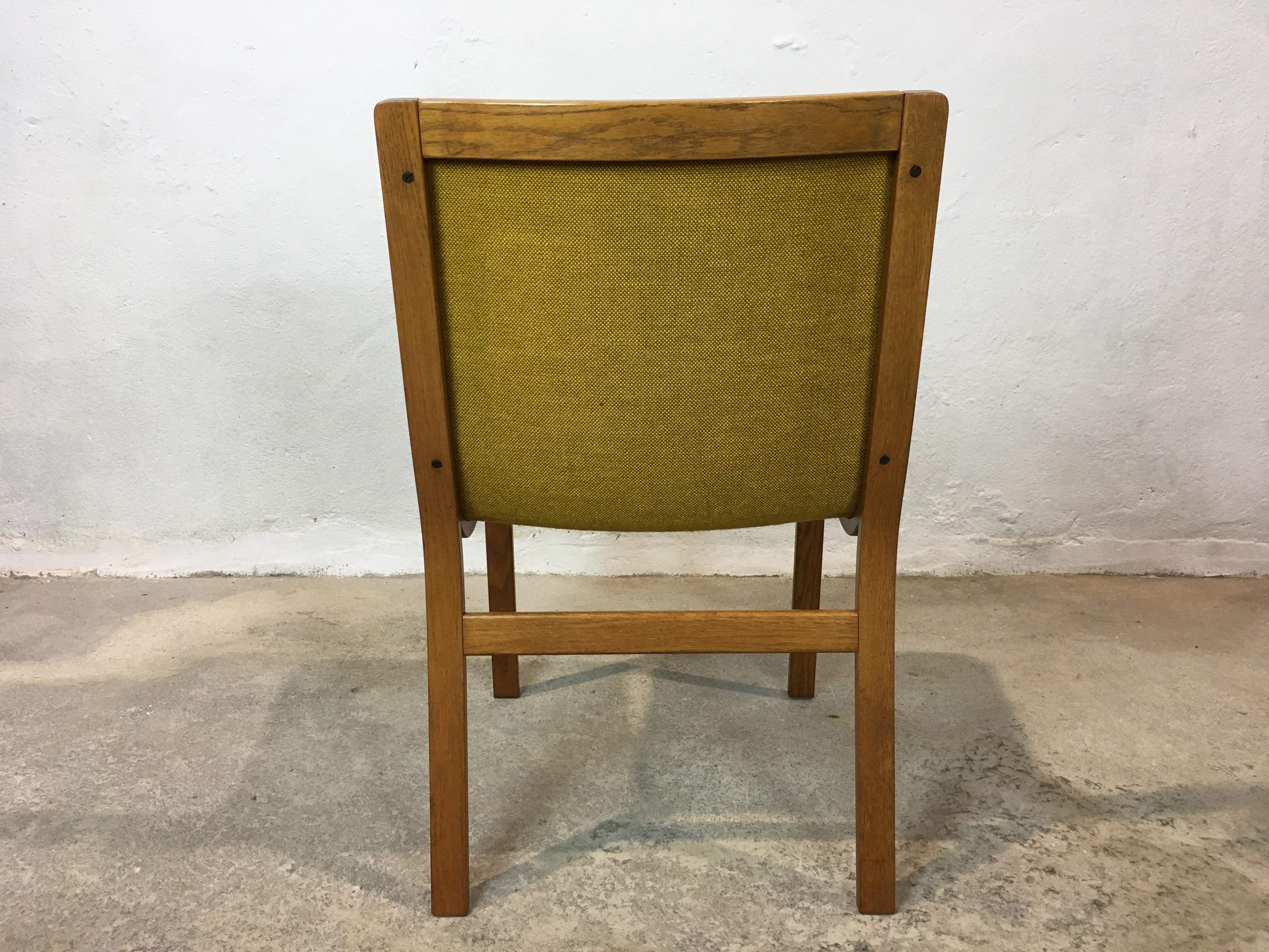 4 Chaises Scandinave Anne 70 Dining Chair Karl Erik