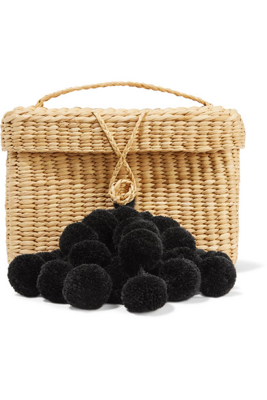 NANNACAY Baby Roge Pompom-Embellished Tote