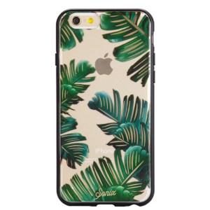 Phone case palm leaves