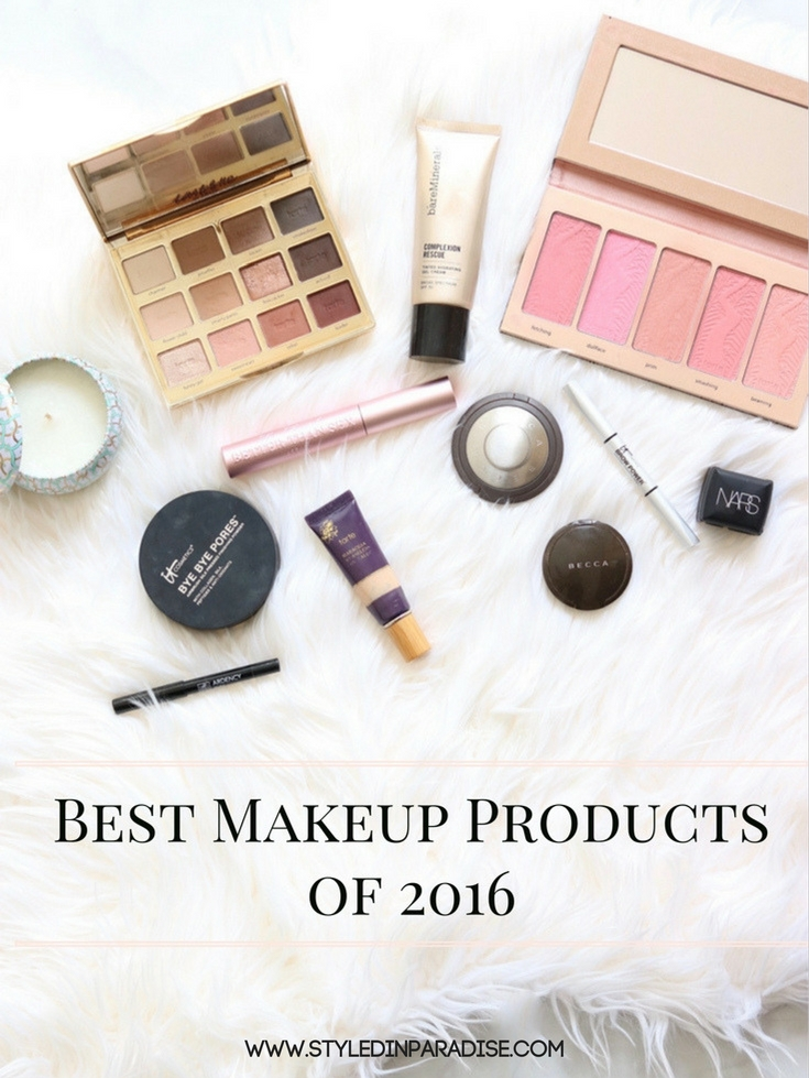 Best of Beauty 2016, Best Makeup Products