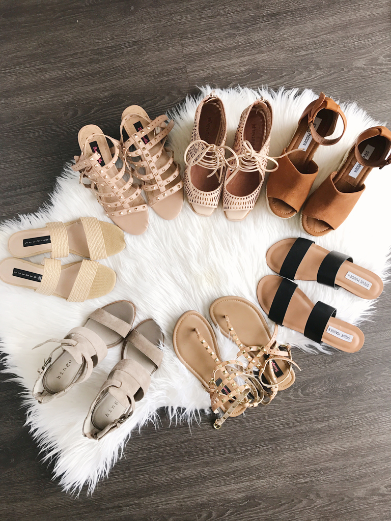 Best summer shoe sandal collection summer featuring neutral colors different pricepoints nordstrom target revolve steve madden women