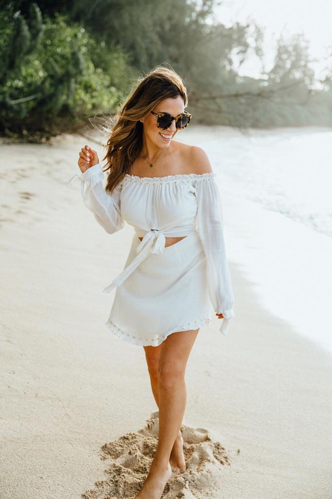 Lovers & Friends Sunrise Dress, North Shore Oahu Hawaii, Styled in Paradise blog, Hawaii Fashion Blogger, Jaylene Michelle1