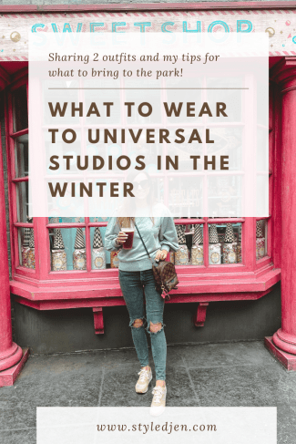 Universal Studios Winter Outfit