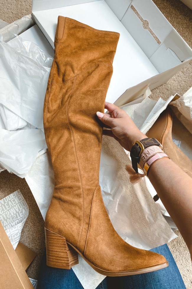 nordstrom anniversary sale 2020 marc fisher Cathi Pointed Toe Over the Knee Boot
