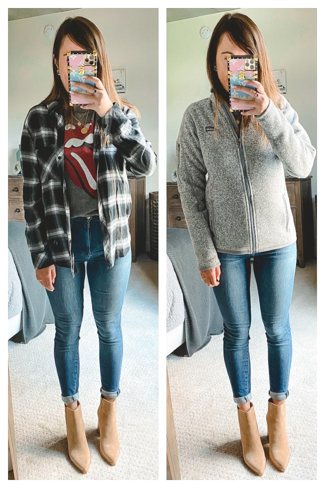 nordstrom anniversary sale 2020 rails plaid and patagonia better sweater