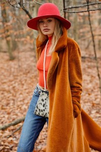 The Charlie Faux Fur Long Coat