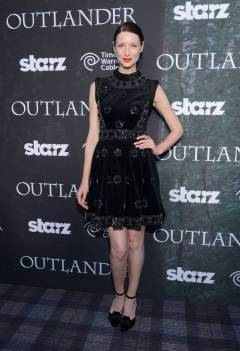 Caitriona Balfe attends the Outlander Premier - Comic-Con International 2014