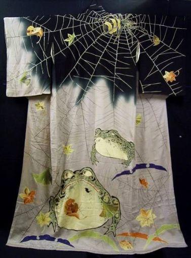 Toad and Spiderweb Kimono