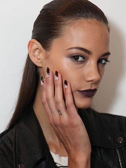 Trends In Nail Polish 2016 Water Design