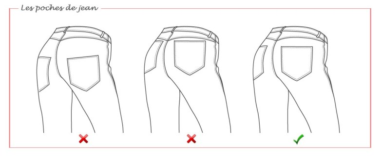 poches jean b