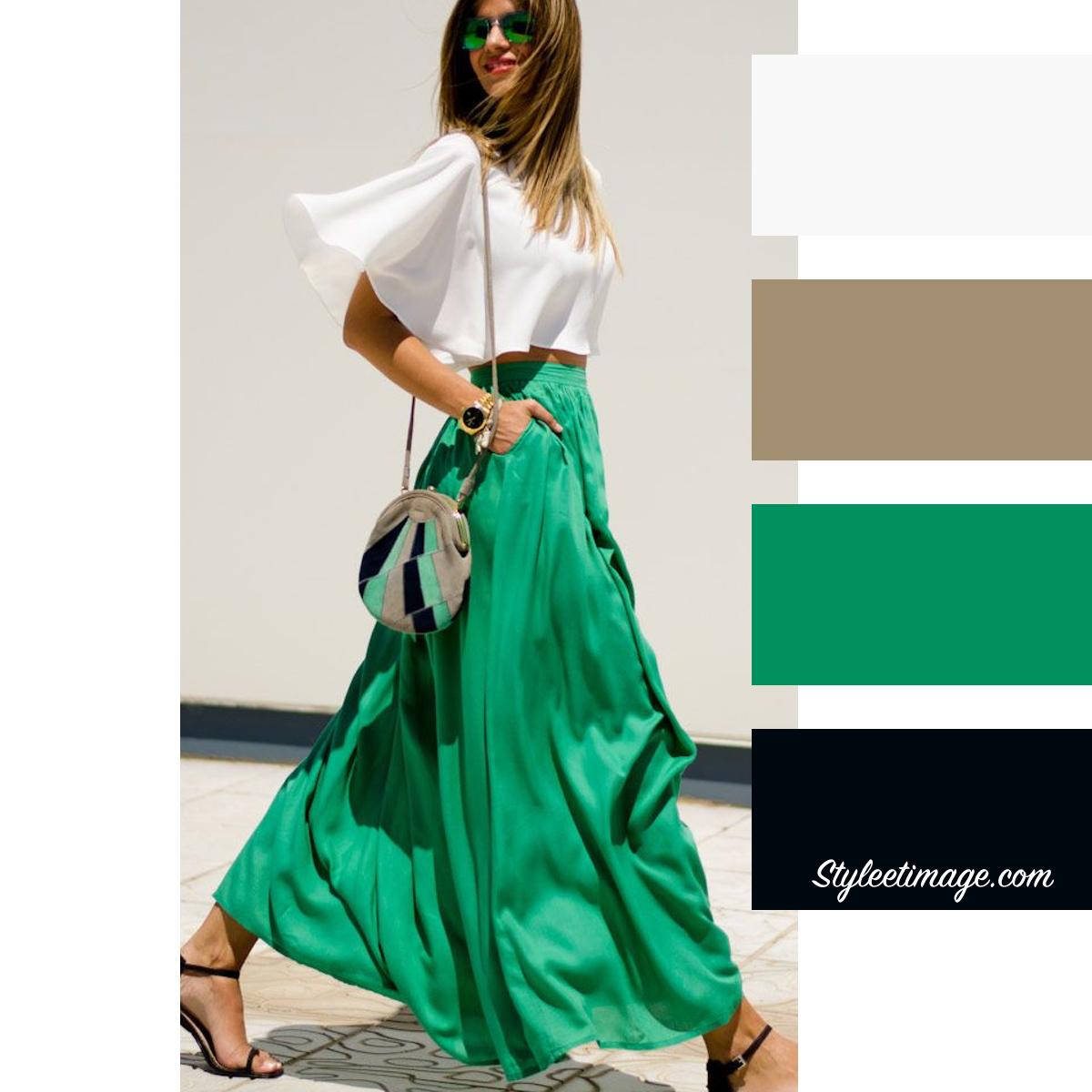 Les Couleurs Qui Se Marient Avec Le Vert 15 idées pour associer les couleurs de vos vêtements  