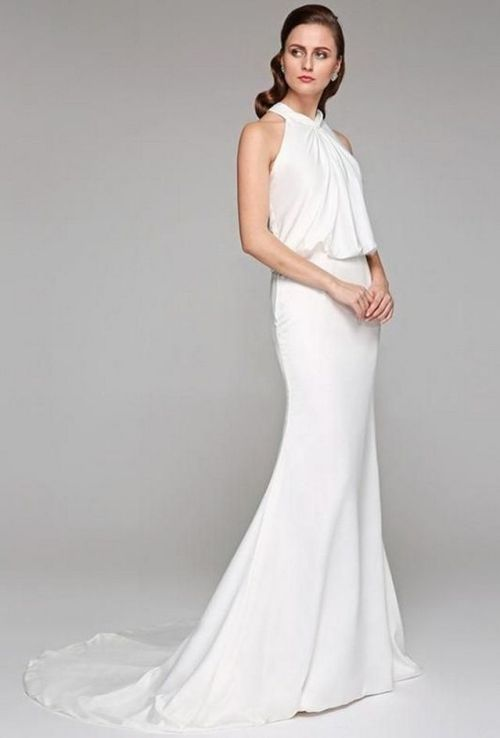 40 Beautiful wedding dresses for 40 year old brides ideas 3