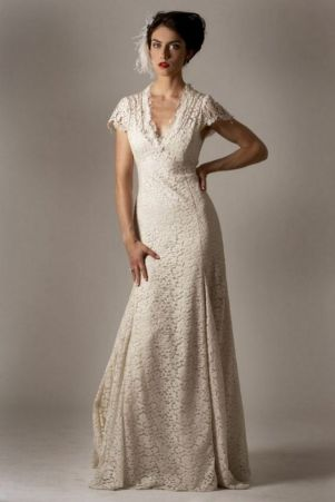 40 Beautiful wedding dresses for 40 year old brides ideas 30