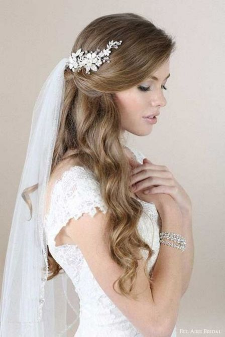 50Best wedding hair accessories ideas 11