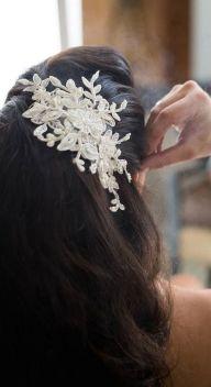 70+ Best Wedding lace headpiece Ideas 11