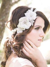70+ Best Wedding lace headpiece Ideas 22