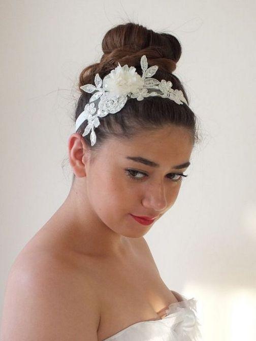 70+ Best Wedding lace headpiece Ideas 38