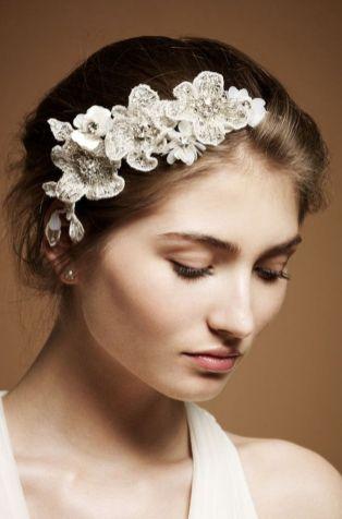 70+ Best Wedding lace headpiece Ideas 41